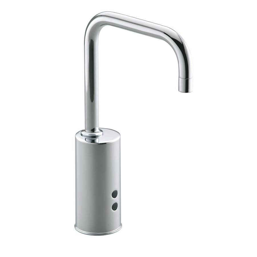 shop kohler insight polished chrome single hole commercial bathroom faucet at. Black Bedroom Furniture Sets. Home Design Ideas