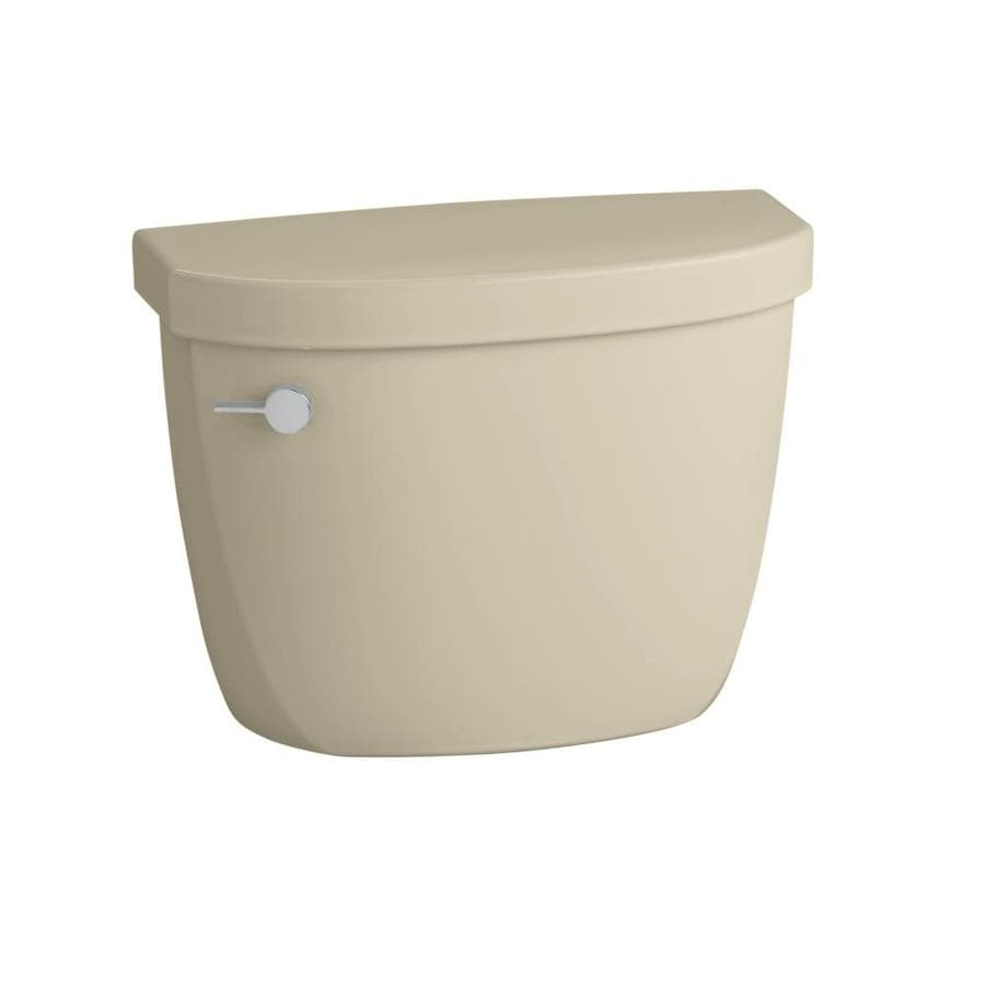 KOHLER Cimarron Almond 1.6-GPF Single-Flush Toilet Tank