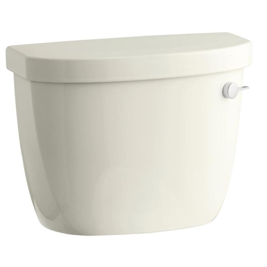 KOHLER Cimarron Biscuit 1.6-GPF Single-Flush High-Efficiency Toilet Tank