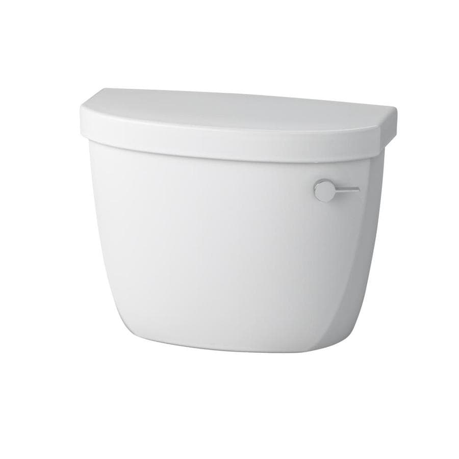 KOHLER Cimarron White 1.28-GPF Single-Flush High-Efficiency Toilet Tank