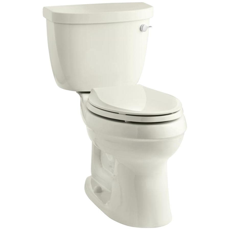 KOHLER Cimarron 1.28 Biscuit WaterSense Elongated Chair Height 2-Piece Toilet