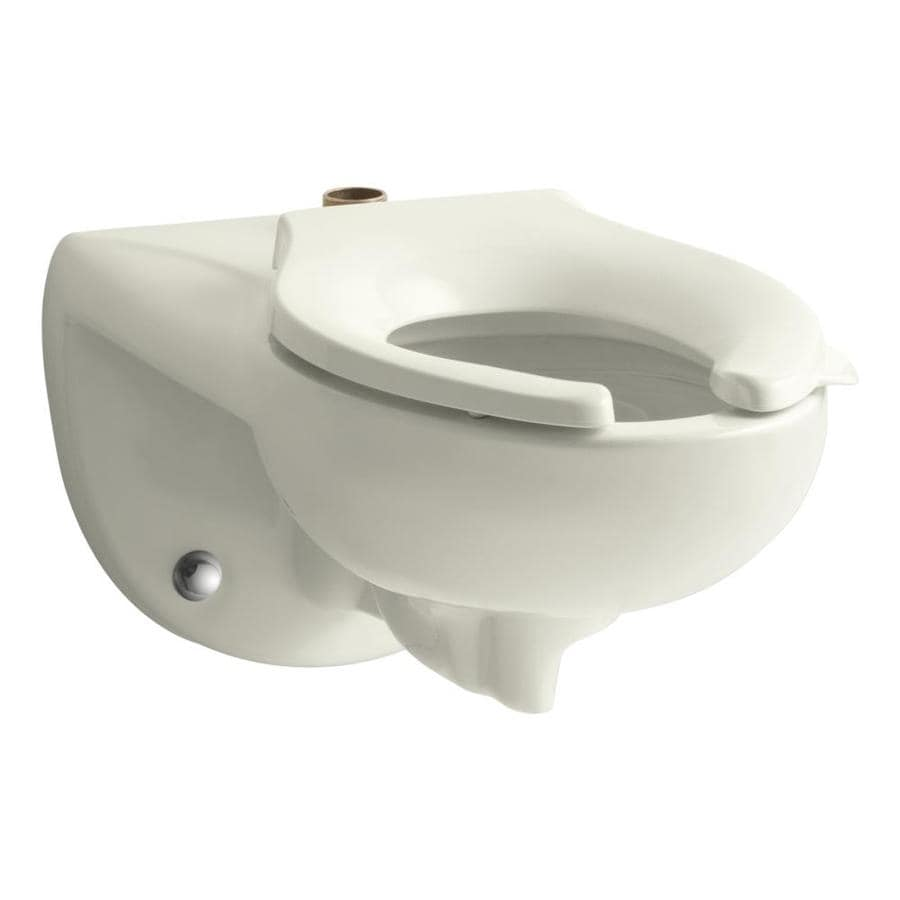 KOHLER Kingston 1.28-GPF (4.85-LPF) Biscuit Elongated Chair Height 1-piece Toilet