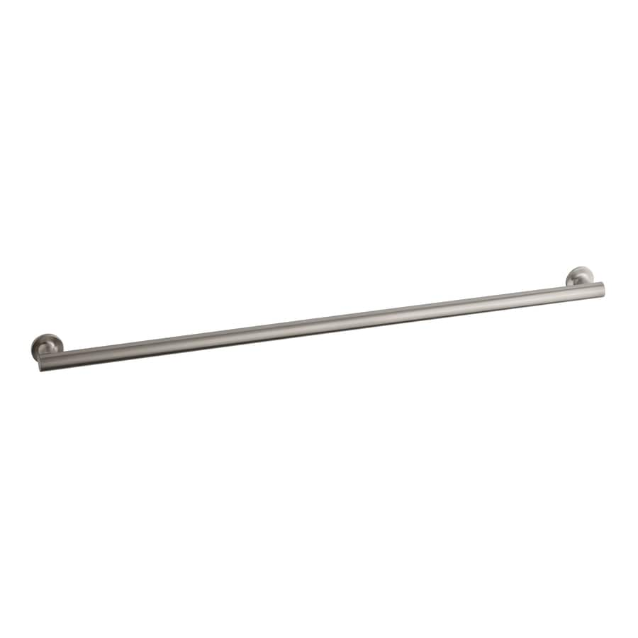 KOHLER 42-in Brushed Stainless Grab Bar