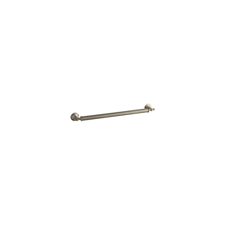 KOHLER Traditional 24-in Vibrant Polished Nickel Wall Mount Grab Bar