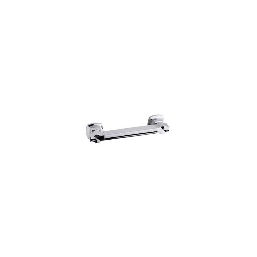KOHLER Traditional 12-in Polished Stainless Wall Mount Grab Bar