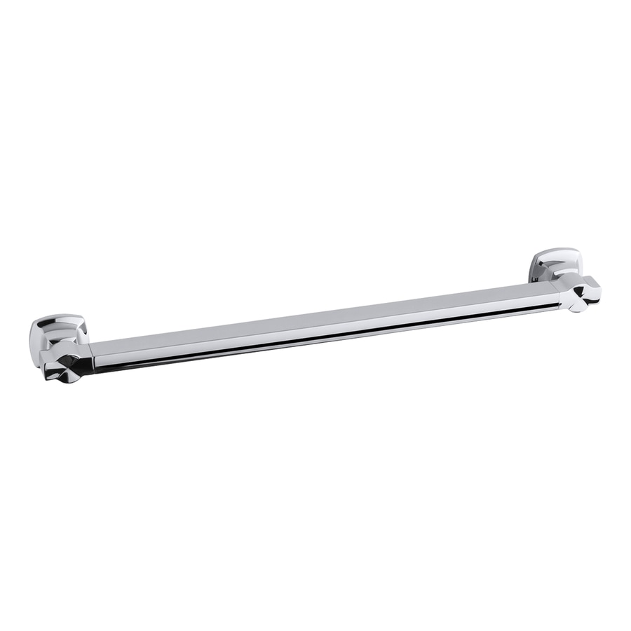 KOHLER Polished Stainless Wall Mount Grab Bar