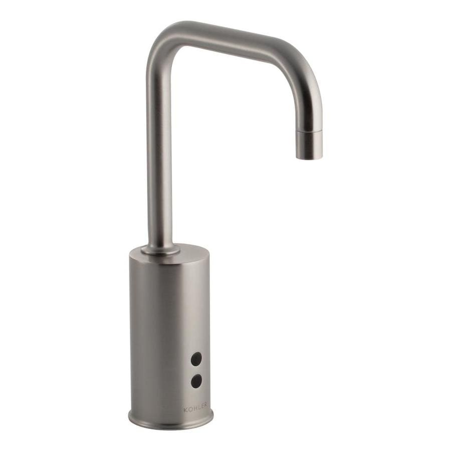 KOHLER Insight Vibrant Stainless Touchless Commercial Bathroom Faucet