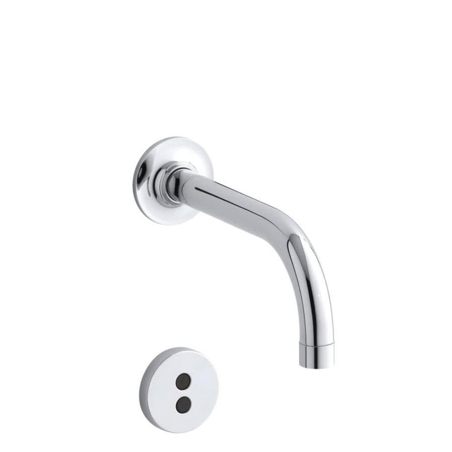 shop kohler purist polished chrome touchless 2 hole bathroom faucet at. Black Bedroom Furniture Sets. Home Design Ideas