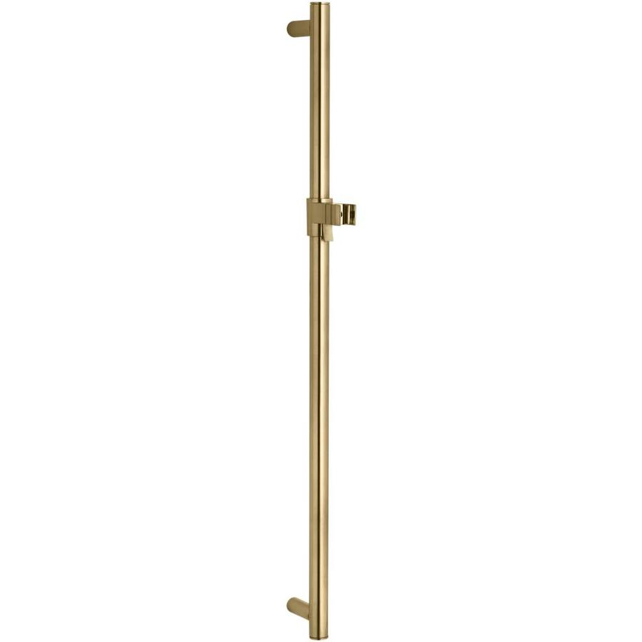 KOHLER Vibrant Moderne Brushed Gold Slide Bar