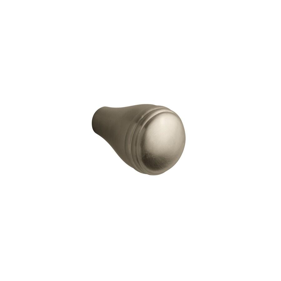 KOHLER Devonshire Vibrant Brushed Nickel Round Cabinet Knob
