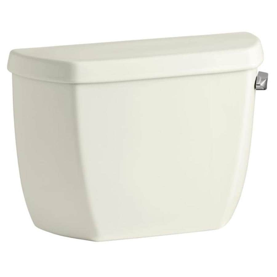 KOHLER Wellworth Biscuit 1.28-GPF Single-Flush High-Efficiency Toilet Tank