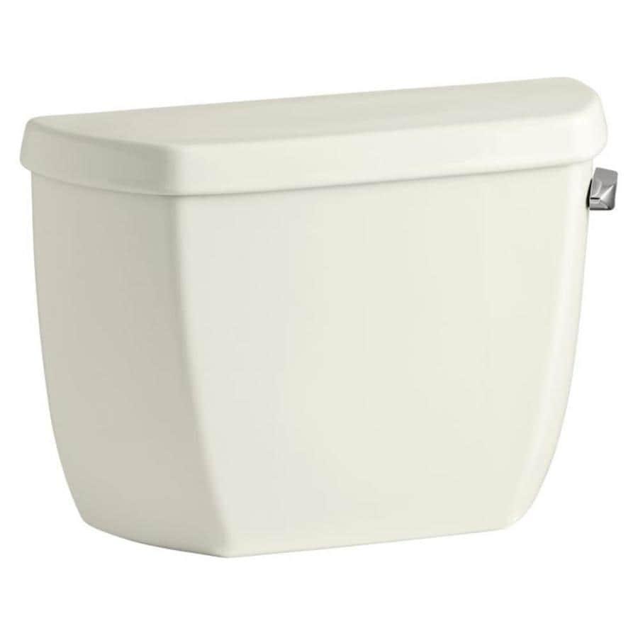 KOHLER Wellworth Biscuit 1.28-GPF Single-Flush High-Efficiency Toilet Tank