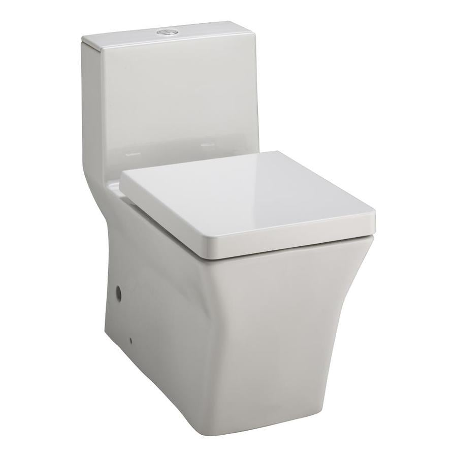 KOHLER Reve White 1.6; 0.8-GPF 12-in Rough-In WaterSense Elongated Dual-Flush 1-Piece Comfort Height Toilet