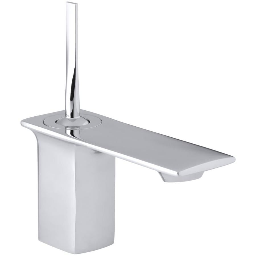 KOHLER Stance Polished Chrome 1-Handle Single Hole Bathroom Faucet