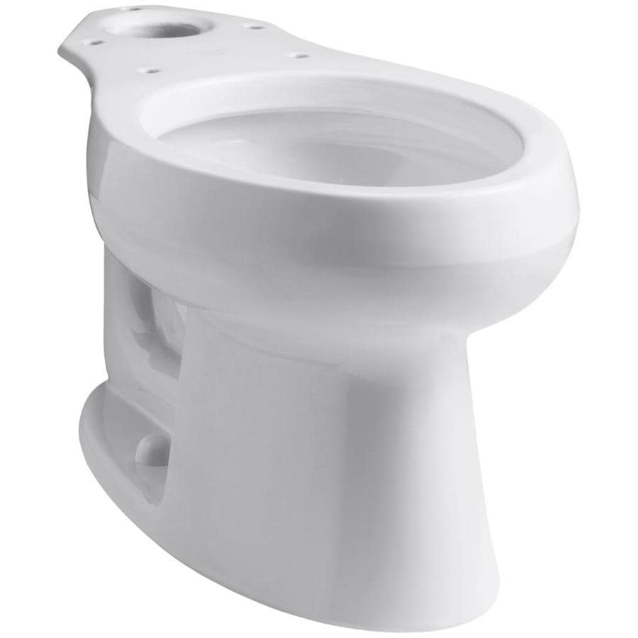 Kohler Wellworth White Elongated Standard Height Toilet