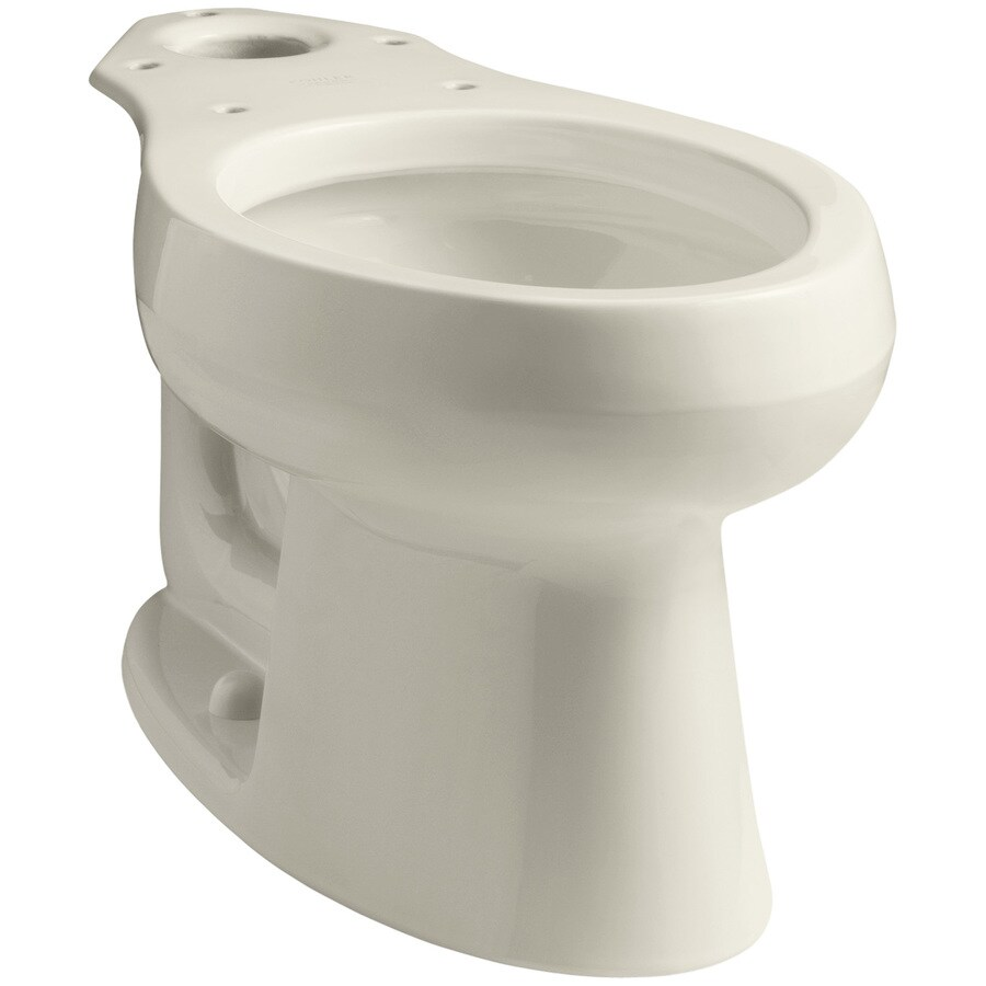 KOHLER Wellworth Almond Elongated Height Toilet Bowl
