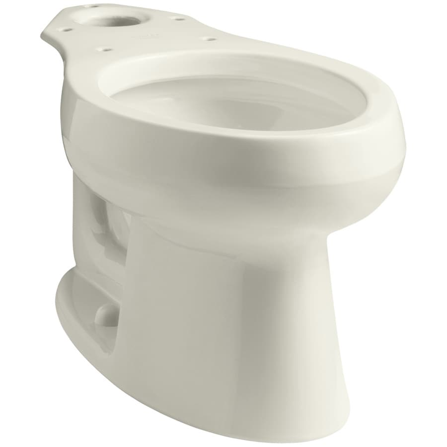 Shop Kohler Wellworth Biscuit Elongated Height Toilet Bowl