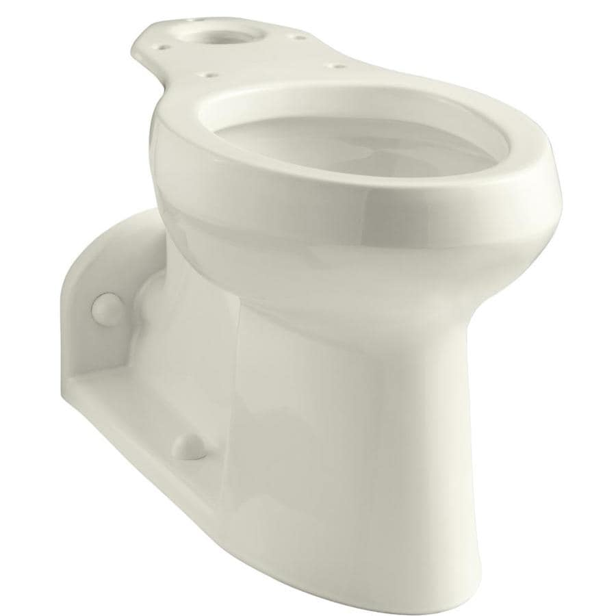 KOHLER Barrington Chair Height Biscuit 4-1/2-in Rough-In Pressure Assist Elongated Toilet Bowl