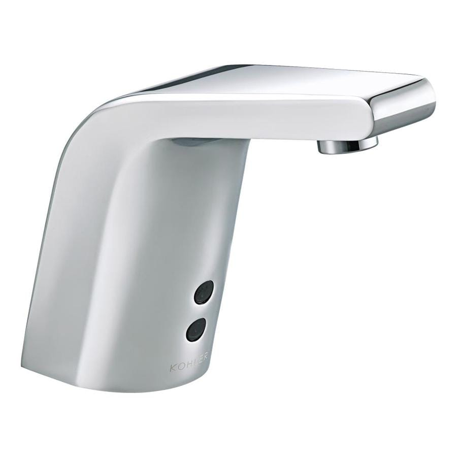 kohler commercial kitchen faucets shop kohler polished chrome single 20240