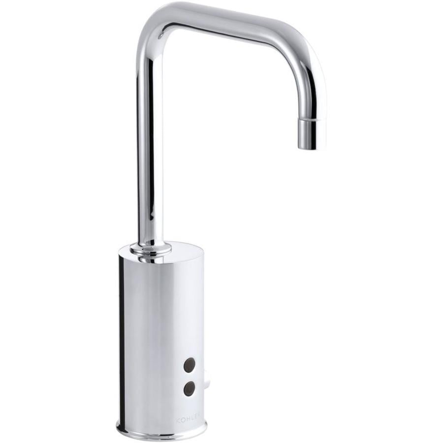 shop kohler polished chrome touchless single hole bathroom faucet at. Black Bedroom Furniture Sets. Home Design Ideas
