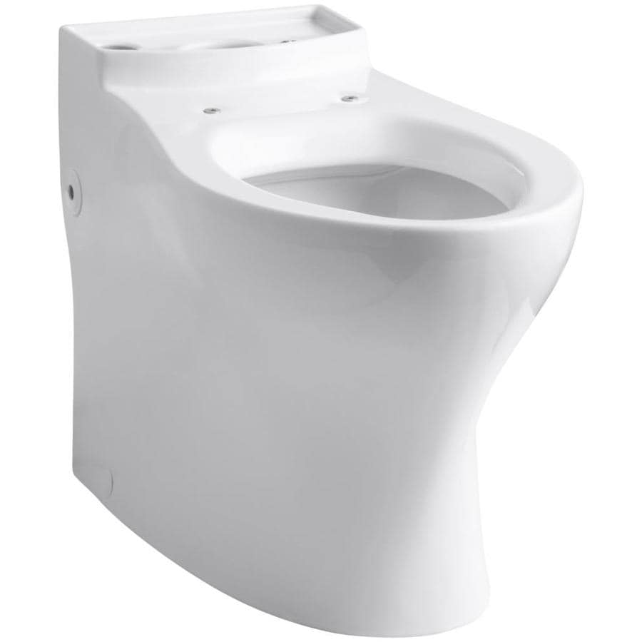 KOHLER Persuade White Elongated Chair Height Toilet Bowl