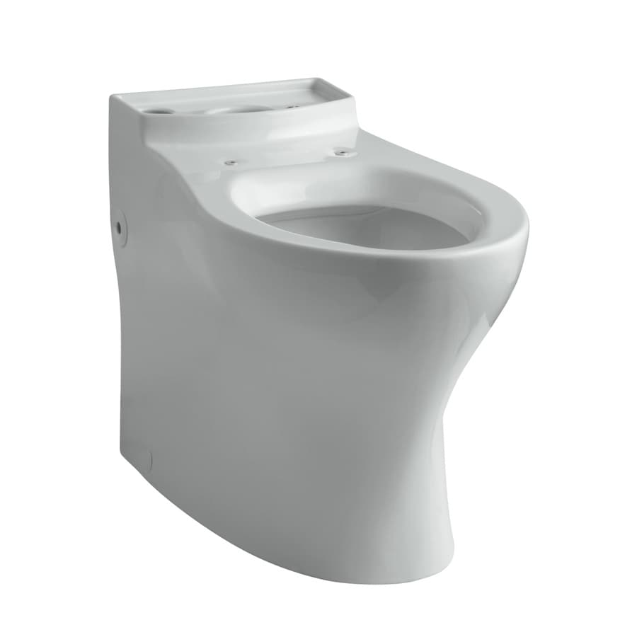 KOHLER Persuade Ice Grey Elongated Chair Height Toilet Bowl