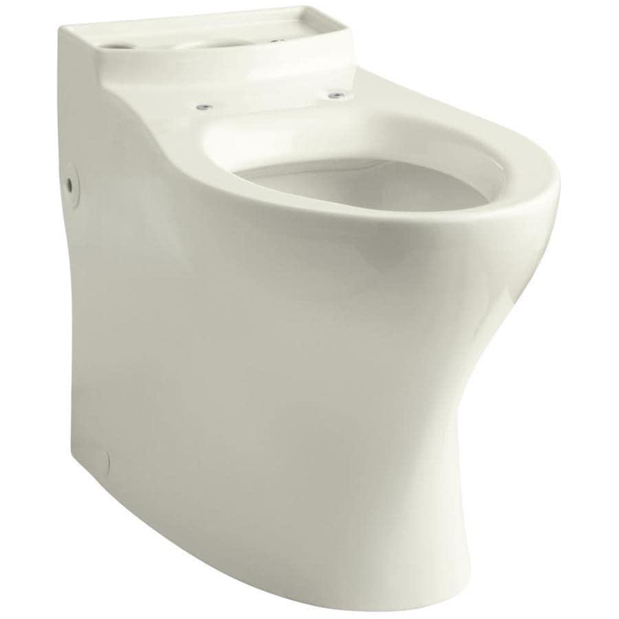 KOHLER Persuade Chair Height Biscuit 12-in Rough-In Elongated Toilet Bowl