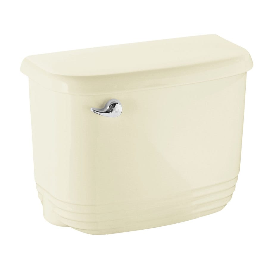 Sterling Riverton Biscuit 1.28-GPF (4.85-LPF) 12-in Rough-In Single-Flush High-Efficiency Toilet Tank