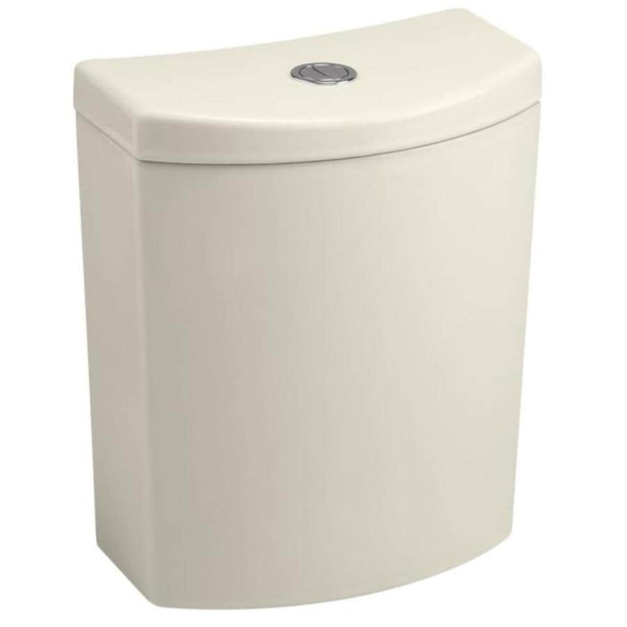 KOHLER Persuade Curv Biscuit 1.6-GPF Dual-Flush High-Efficiency Toilet Tank