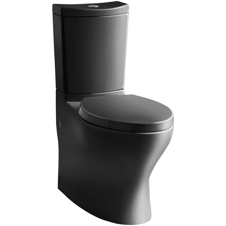 Shop kohler persuade black black watersense labeled dual for Watersense label