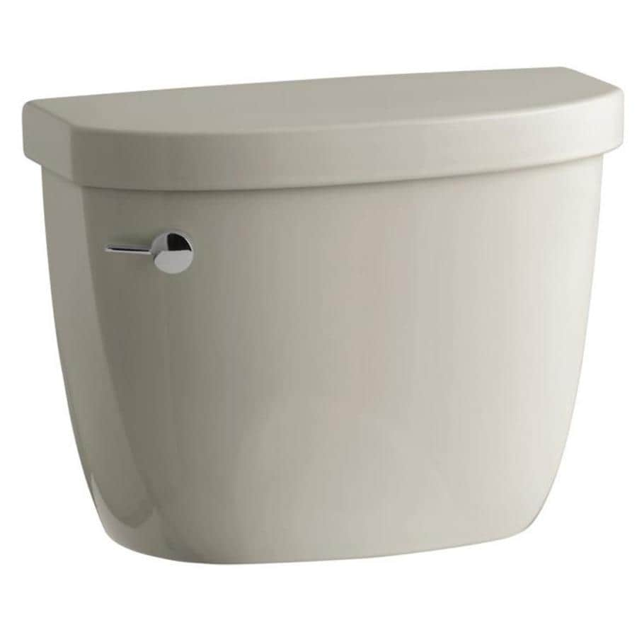KOHLER Cimarron Sandbar 1.28-GPF (4.85-LPF) 12 Rough-In Single-Flush High-Efficiency Toilet Tank