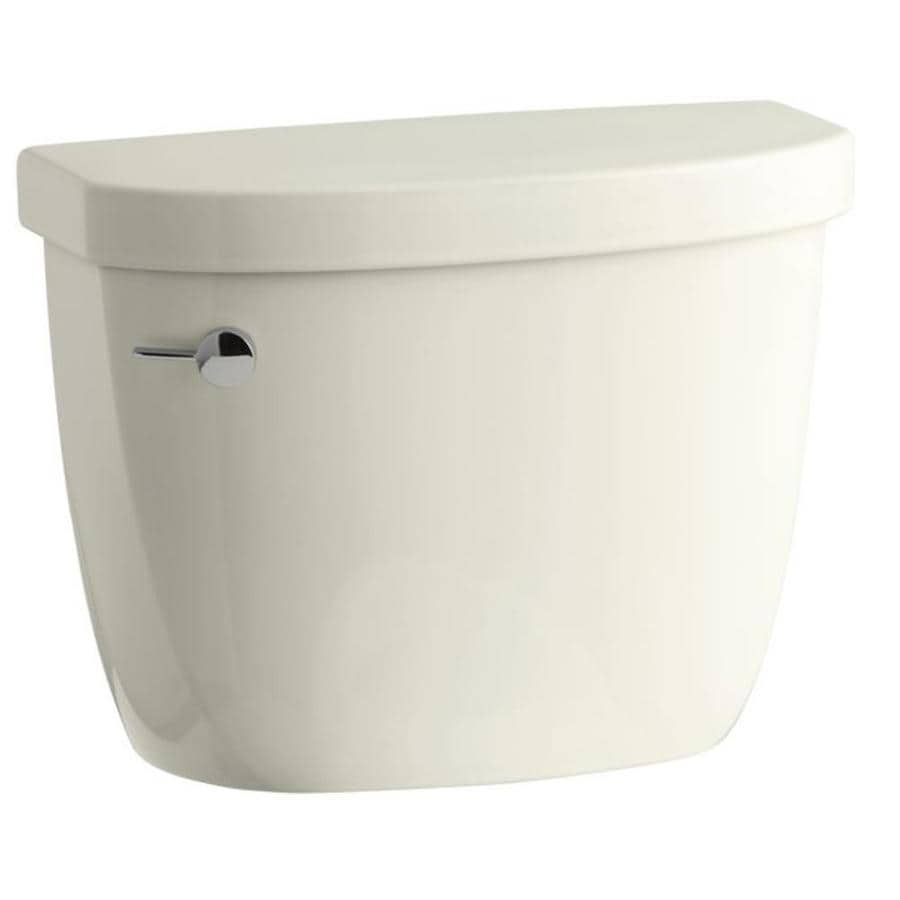 KOHLER Cimarron Biscuit 1.28-GPF Single-Flush High-Efficiency Toilet Tank