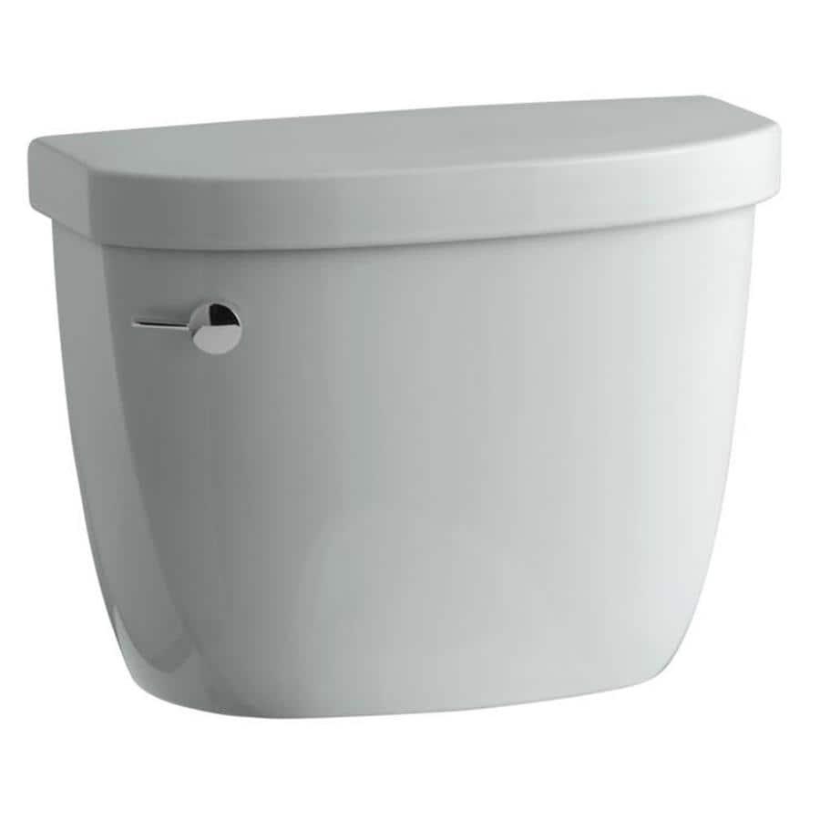 KOHLER Cimarron Ice Grey 1.28-GPF Single-Flush High-Efficiency Toilet Tank
