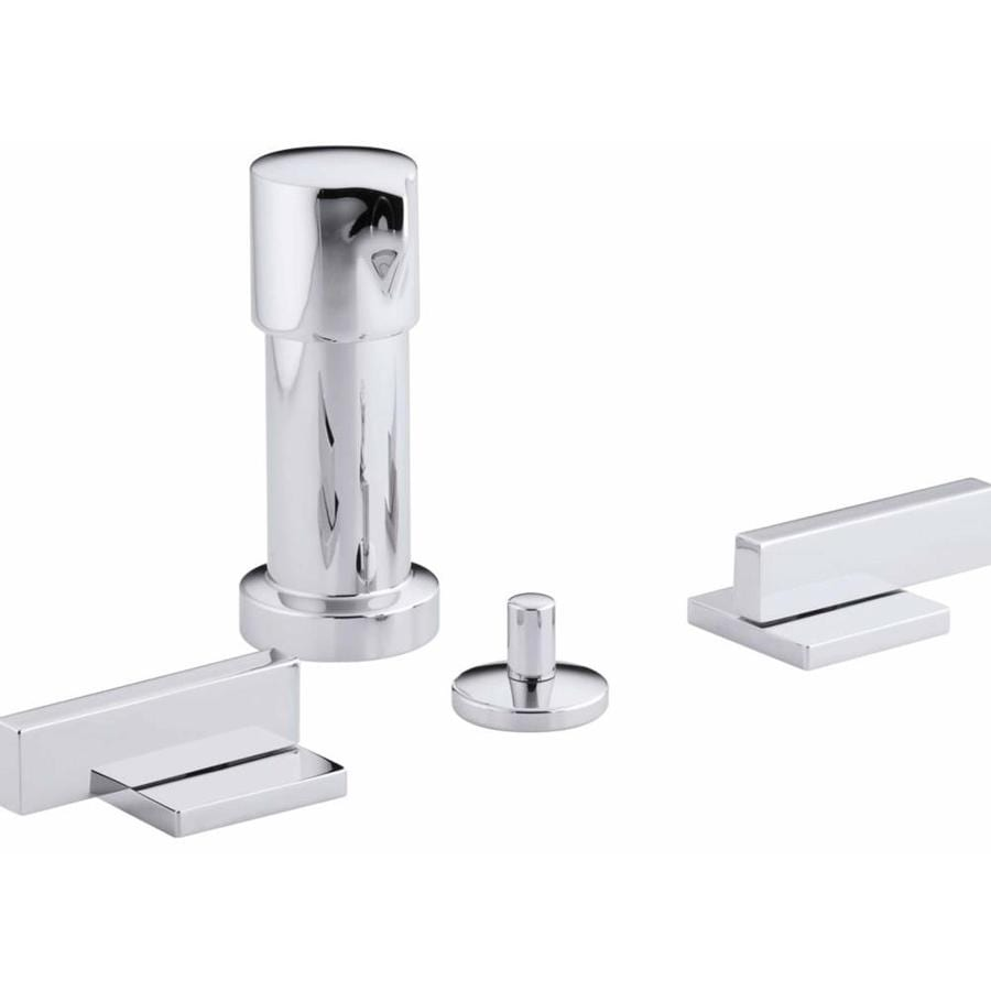 KOHLER Loure Polished Chrome Vertical Spray Bidet Faucet