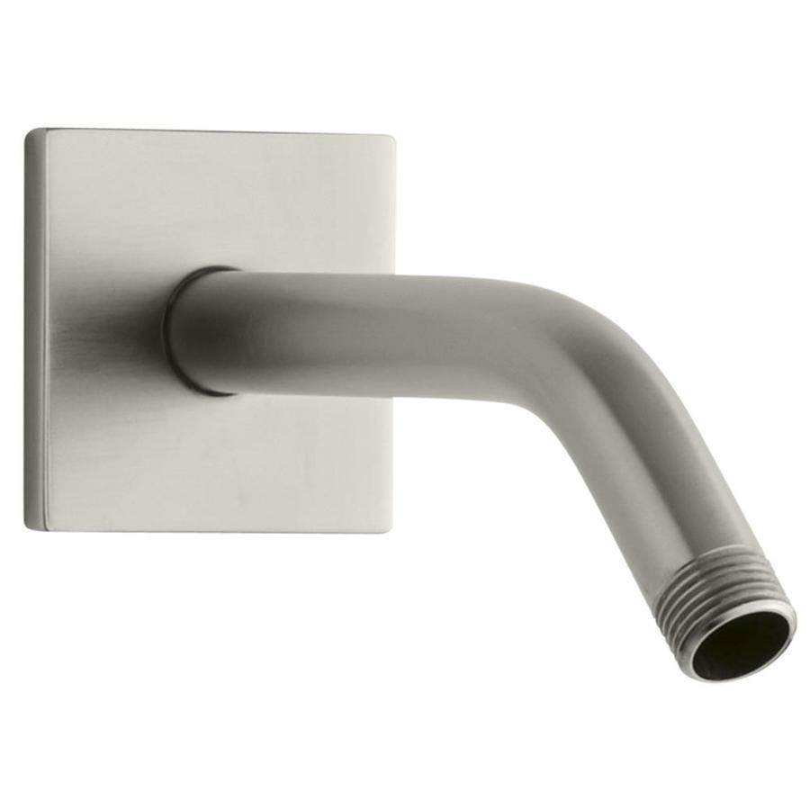 KOHLER Loure Vibrant Brushed Nickel Shower Arm and Flange