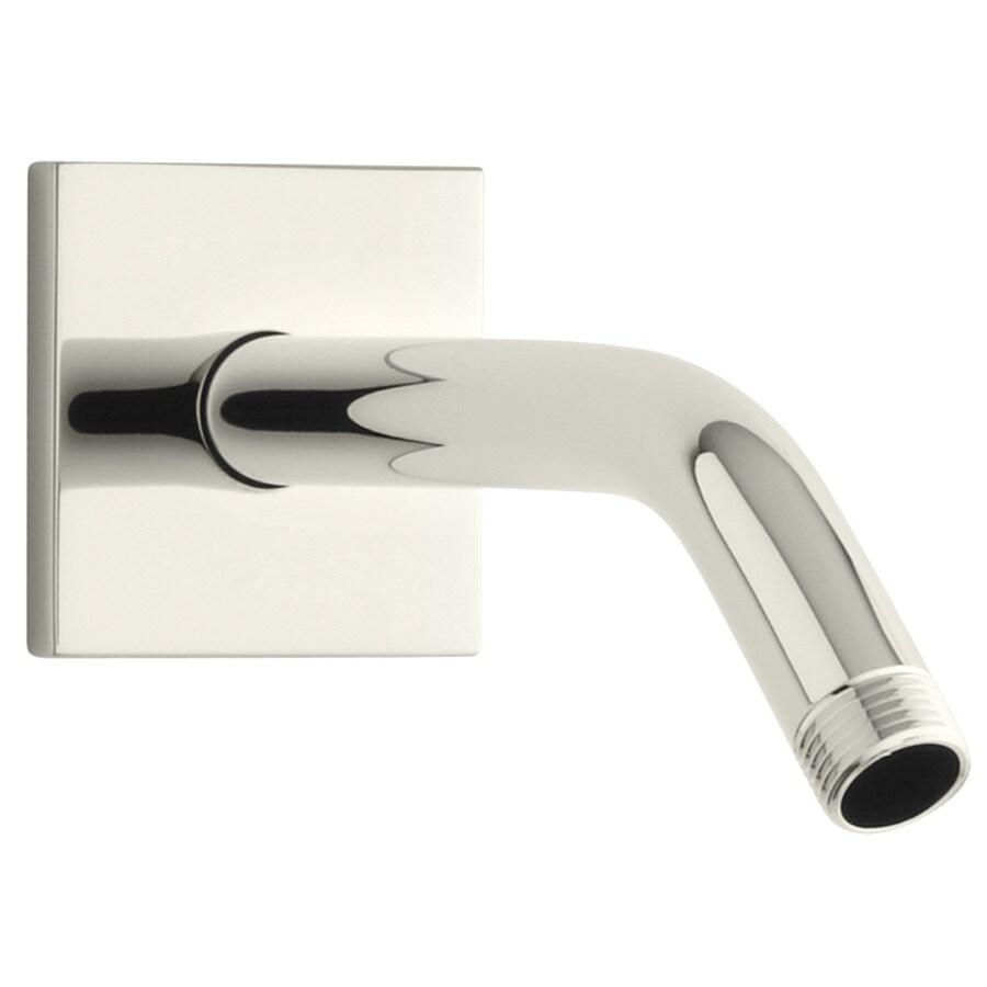 KOHLER Loure Vibrant Polished Nickel Shower Arm and Flange