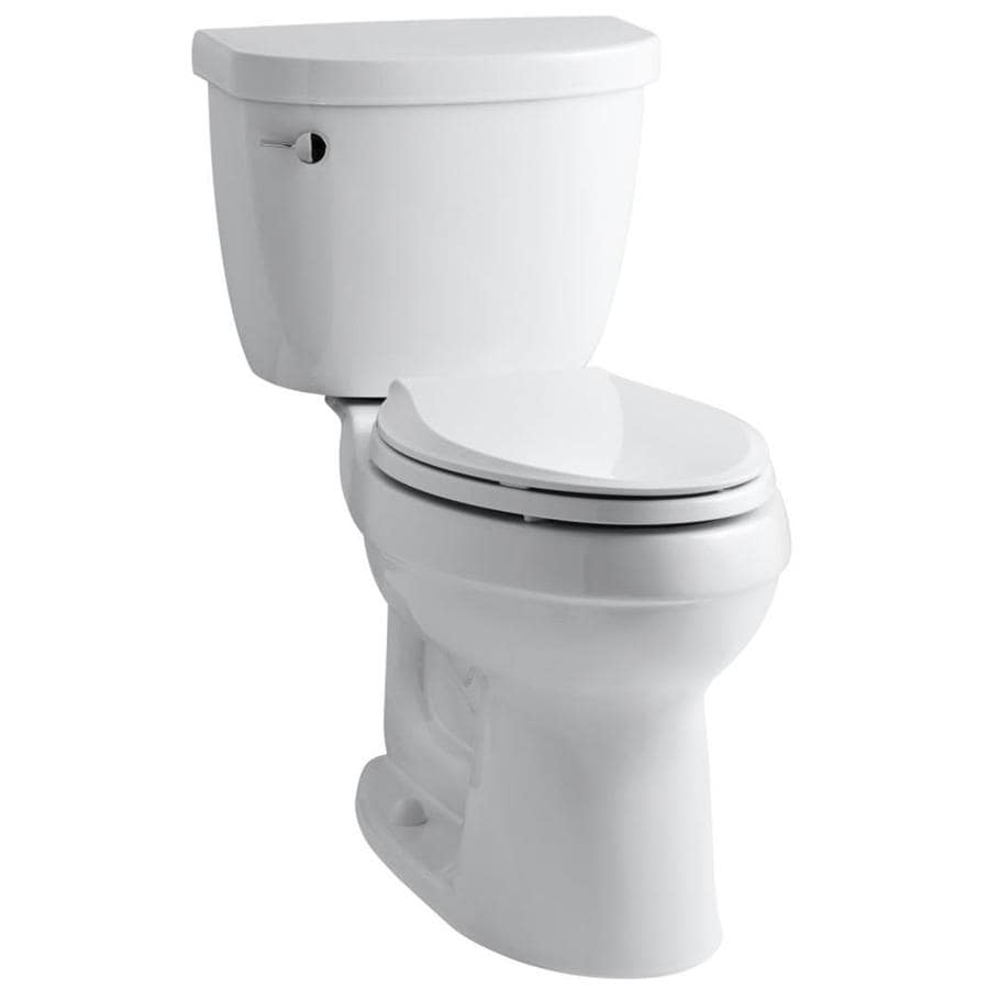 Kohler Cimarron White Watersense Labeled Elongated