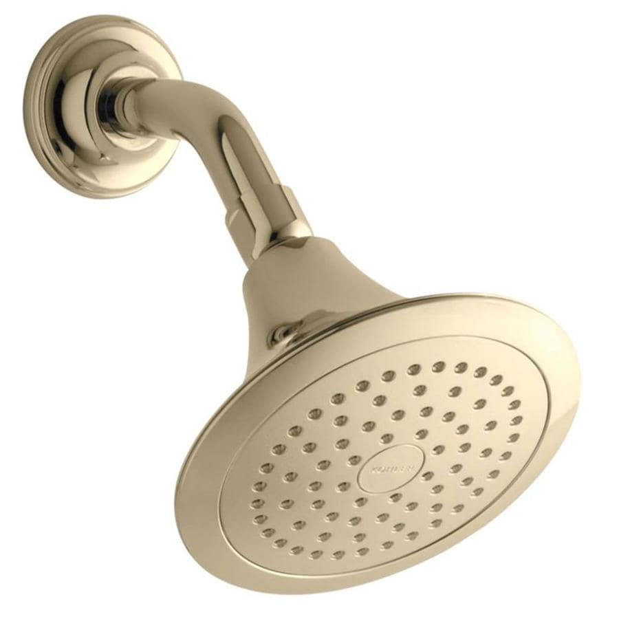 KOHLER Forte Vibrant french gold 1-Spray Shower Head