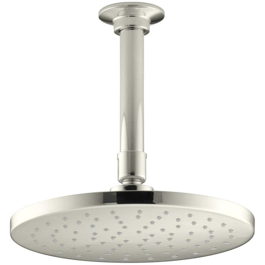 KOHLER Contemporary Round Vibrant polished Nickel 1-Spray Shower Head