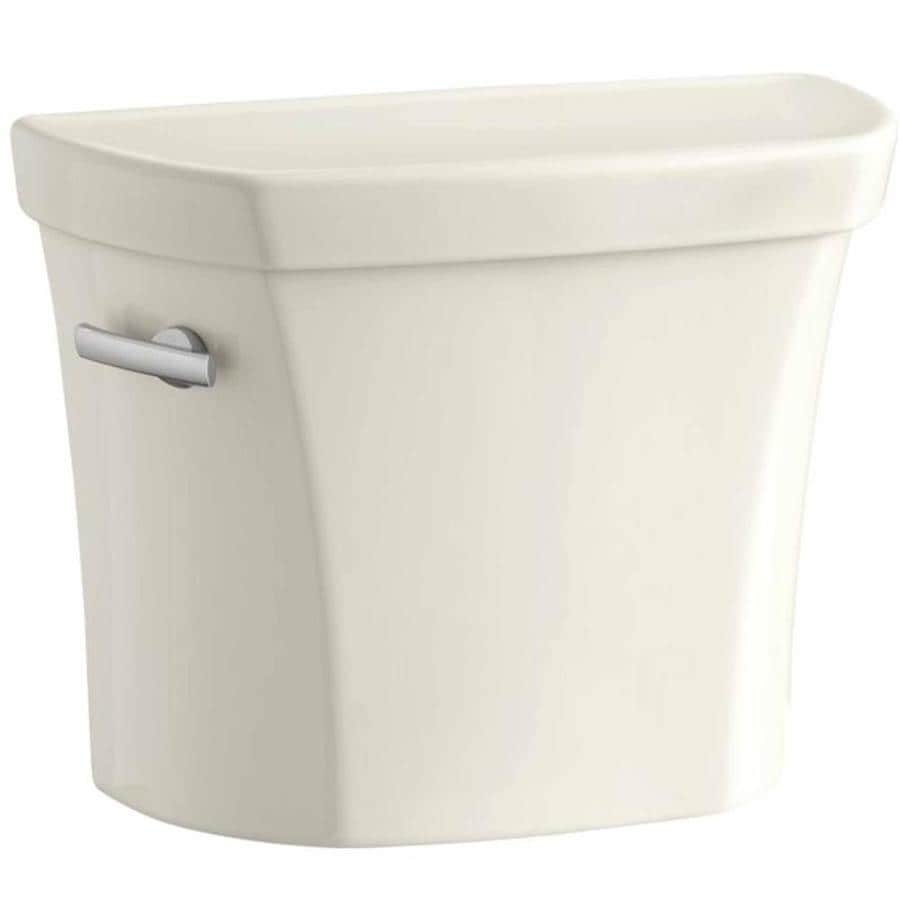KOHLER Wellworth Biscuit 1.6000-GPF Single-Flush High-Efficiency Toilet Tank