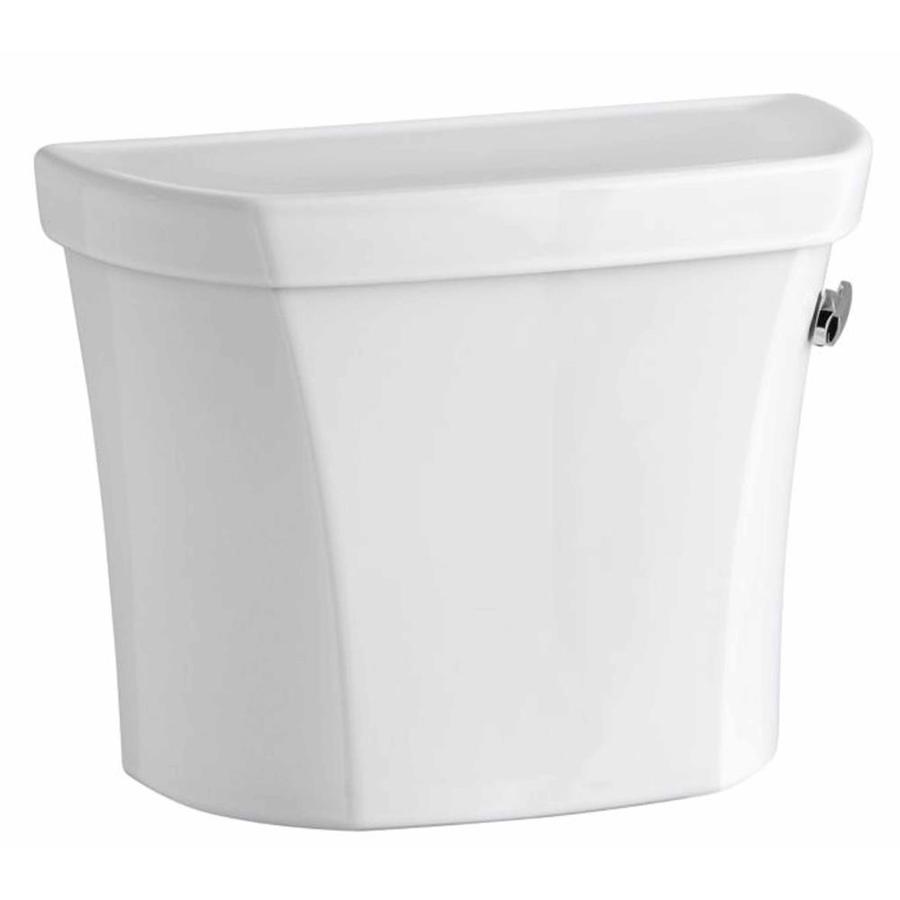 KOHLER Wellworth White 1.6-GPF Single-Flush High-Efficiency Toilet Tank