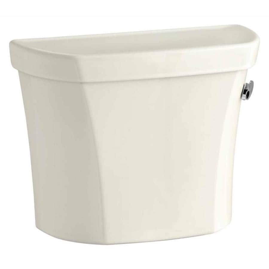 KOHLER Wellworth Biscuit 1.6-GPF Single-Flush High-Efficiency Toilet Tank