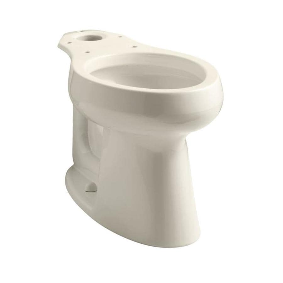 KOHLER Highline Almond Elongated Chair Height Toilet Bowl