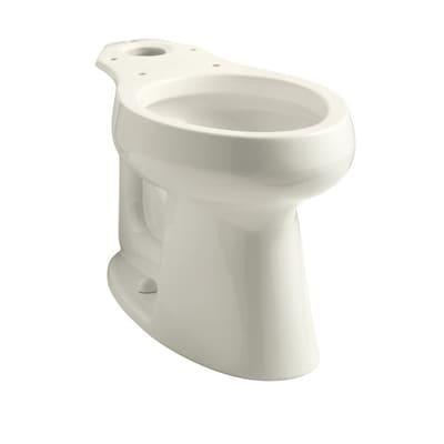Kohler Highline Biscuit Elongated Chair Height Toilet Bowl