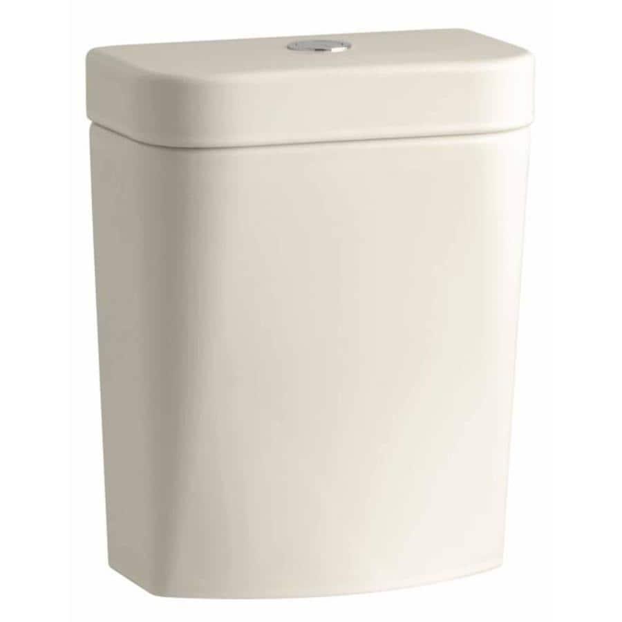 KOHLER Persuade Almond 1.6-GPF (6.06-LPF) 12 Rough-In Single-Flush High-Efficiency Toilet Tank
