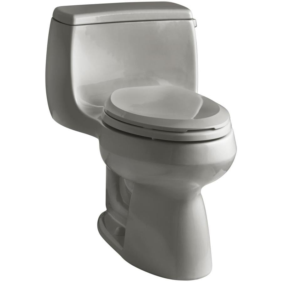 KOHLER Gabrielle Cashmere WaterSense Labeled  Elongated Chair Height 1-piece Toilet 12-in Rough-In Size