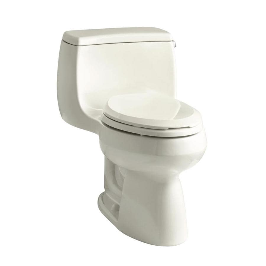 KOHLER Gabrielle Biscuit WaterSense Labeled  Elongated Chair Height 1-piece Toilet 12-in Rough-In Size