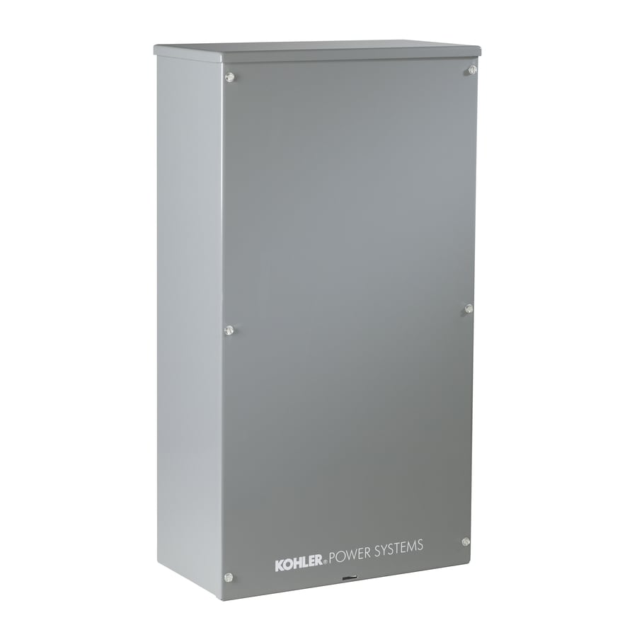 KOHLER 200-Amp Whole House Indoor/Outdoor Rated Automatic Transfer Switch