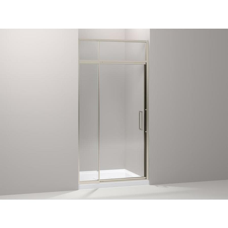 Kohler Lattis Pivot Shower Door With Sliding Steam Transom 89 1 2 In