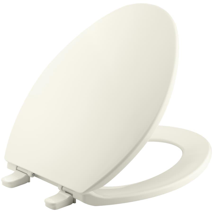 KOHLER Brevia Plastic Elongated Toilet Seat